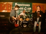 1995. Faces Fall Hit the Road in a Series of gigs in West London