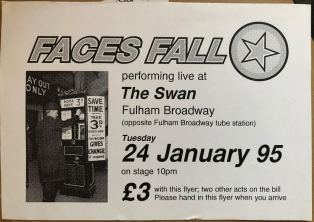 Faces Fall at the Swan 95
